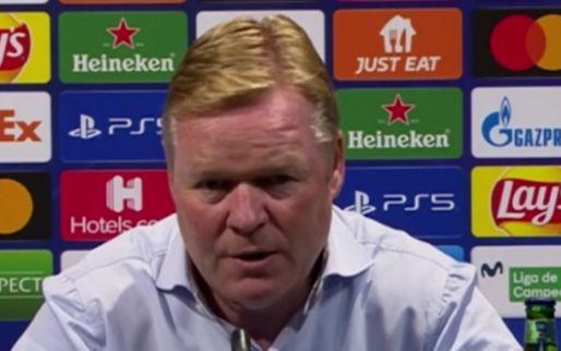 Koeman snapt kritische fans van Barcelona: 'Ik denk er precies hetzelfde over'