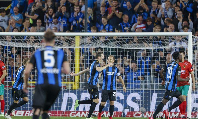 Afbeelding: Club Brugge creëert het meeste grote kansen, STVV krijgt er het minste tegen