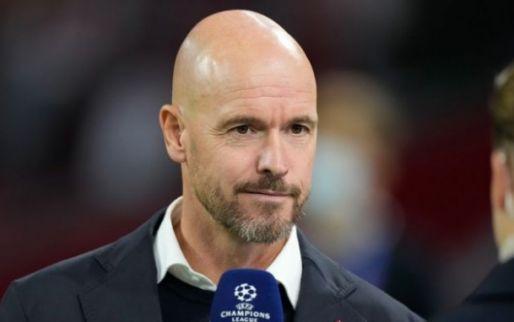 Ten Hag kijkt naar Van de Beek: 'Ajax-spelers moeten keuze goed afwegen'