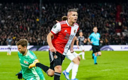UEFA ziet Linssen uitblinken bij Feyenoord en nomineert spits voor onderscheiding