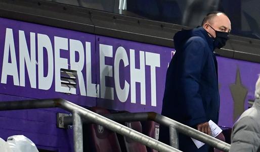 Donvil weg bij Anderlecht: