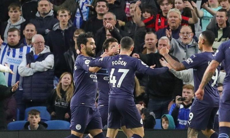 Afbeelding: Na Club Brugge imponeert Man City ook tegen stuntploeg Brighton
