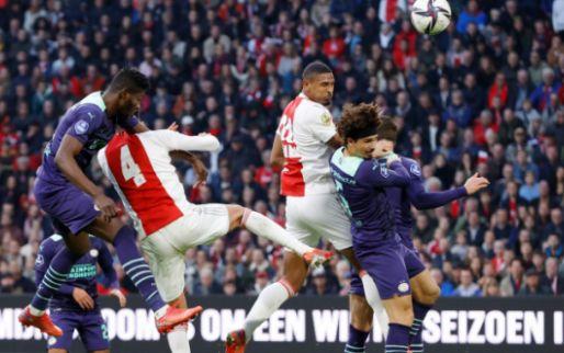 Ajax en PSV op rapport: 6 ondergrens bij Ajax, negen PSV-onvoldoendes