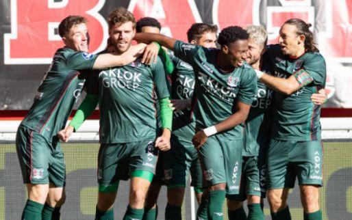 Afbeelding: NEC wint nipt op bezoek bij FC Twente door flinke fout van Pröpper
