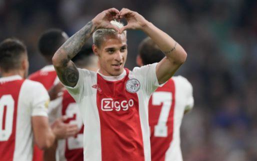 Antony happy bij Ajax: 'Meer dan een vriend, hij is een grote broer voor me'