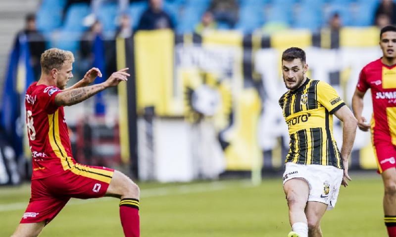 Afbeelding: Vitesse gaat in blessuretijd verrassend onderuit tegen Go Ahead Eagles