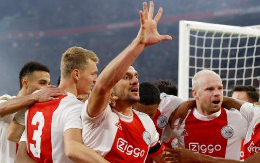 Afbeelding: VP's Elftal van de Week: Ajax met zijn vieren na gewonnen topper tegen PSV