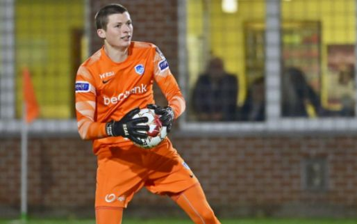 KRC Genk laat doelman debuteren: