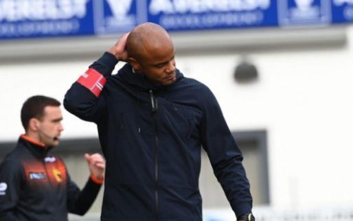 Kompany maakt indruk als coach: