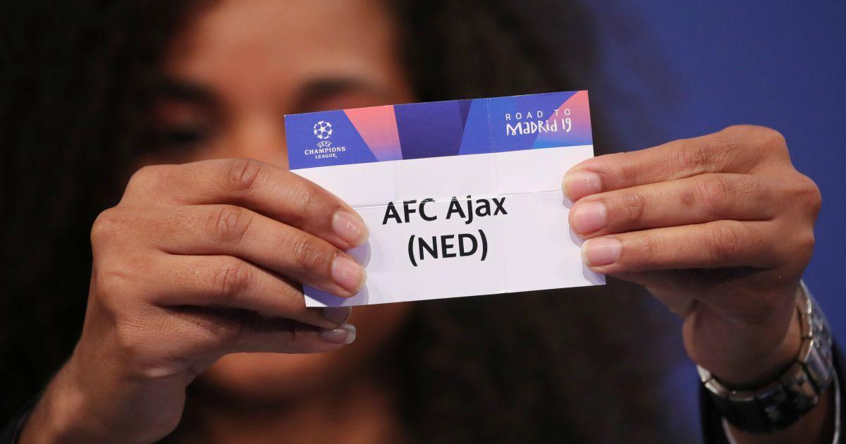 Champions League Loting Picture: Complottheorie Rond Ajax-Real Madrid: 'Kijk Goed Naar De