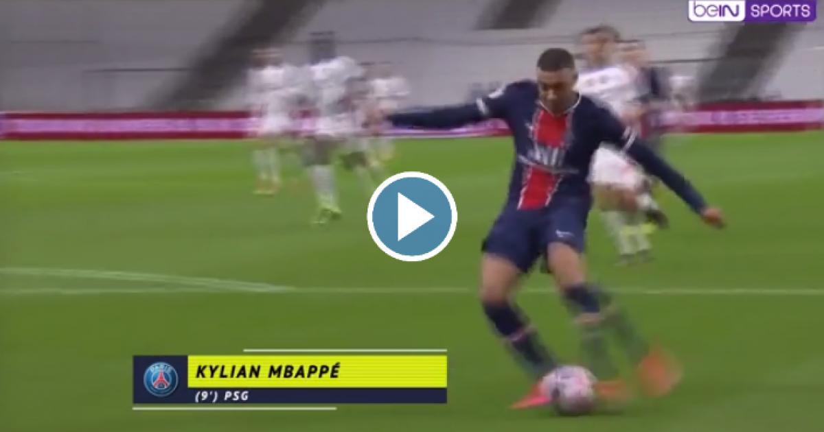 Mbappé ongrijpbaar in 'Le Classique': fantastische sprint, fantastische goal - VoetbalPrimeur.nl