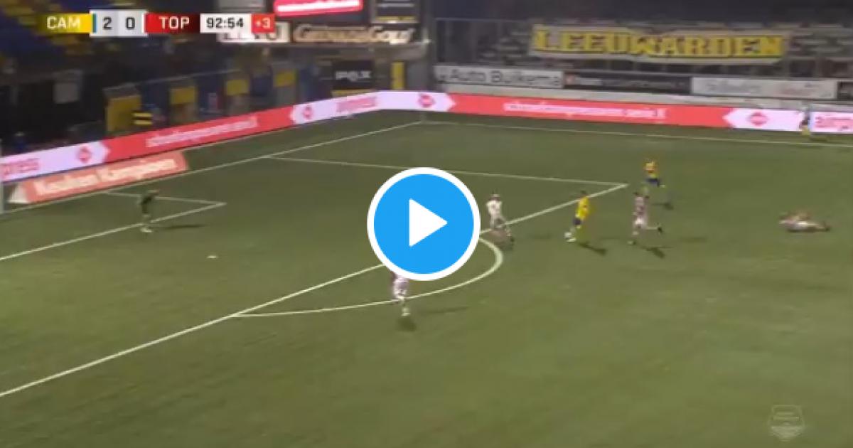 Met héél veel gevoel: Mühren pakt in minuut 93 nog even uit met schitterende lob - VoetbalPrimeur.nl