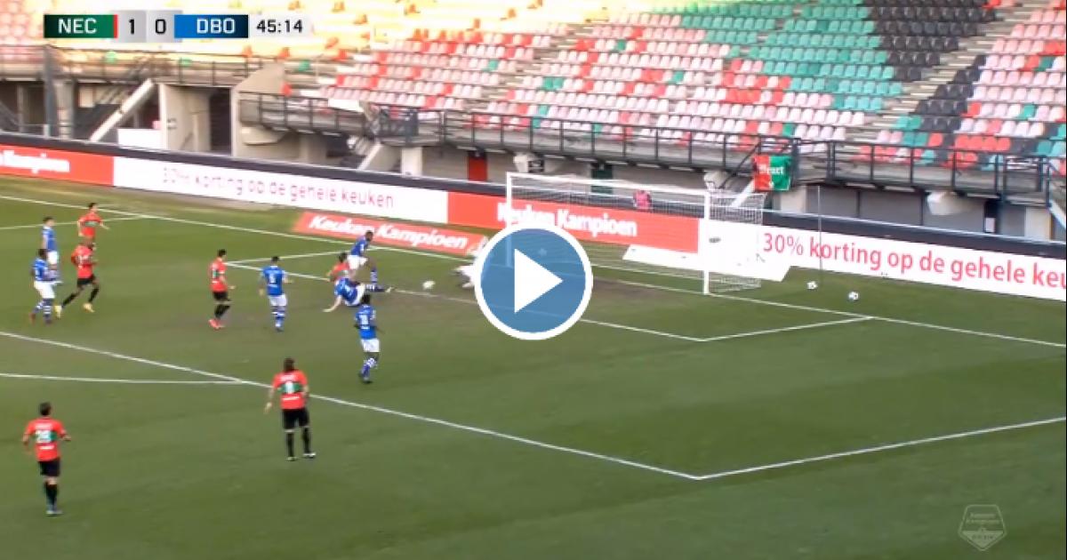 NEC gaat als een raket op dinsdagmiddag en scoort 14 (!) seconden na de aftrap al - VoetbalPrimeur.nl
