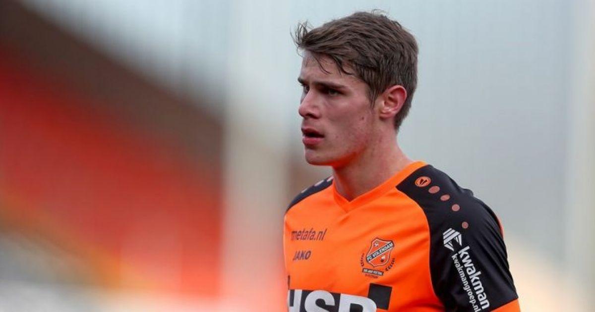 Jonk benoemt slechts negentienjarige Van de Ven tot nieuwe aanvoerder Volendam - VoetbalPrimeur.nl