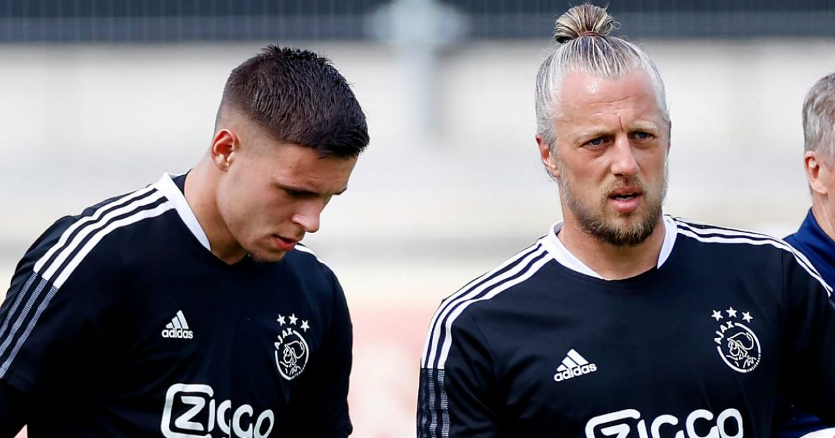 """Pasveer tells about Gorter at Ajax: """"I and Stekelenburg additionally like that"""""""