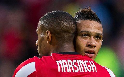 Afbeelding: Bedroevend PSV pakt dankzij schitterende goals Depay volle pond