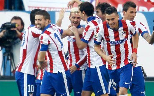 Afbeelding: Atlético klaart klus al voor rust en kruipt weer richting Barcelona en Real