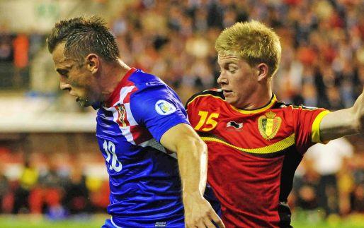 Afbeelding: België scoort er flink op los, Wales en Bosnië in evenwicht