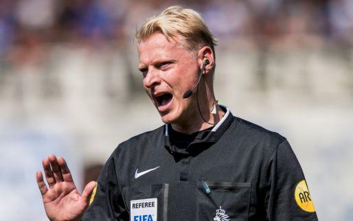 Afbeelding: Nederlandse scheidsrechter krijgt volle laag na hectisch Europa League-duel