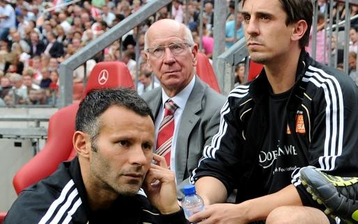 Afbeelding: Giggs en Neville overwegen Salford City te kopen