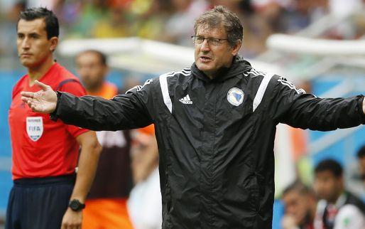 Afbeelding: Bosnische bondscoach denkt na slechte start al niet meer aan groepswinst