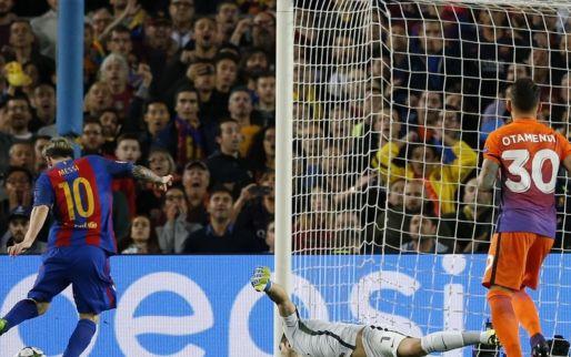 Afbeelding: Hattrick Messi velt oude meester 'Pep', Carrasco schenkt Atlético krappe zege