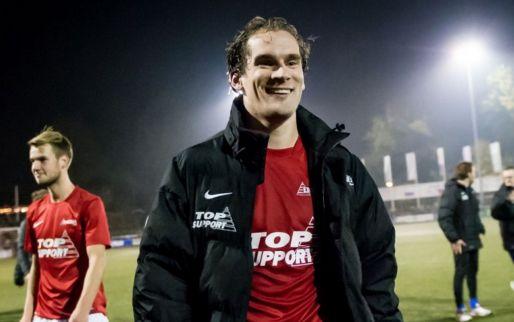 Afbeelding: Spits hoofdklasser topscorer in KNVB Beker: