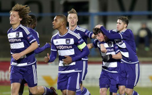 Afbeelding: Jongeren Anderlecht starten prestigieus toernooi met puntendeling