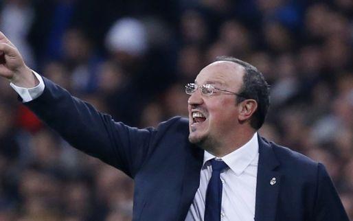 Afbeelding: Bestuur heeft het helemaal gehad: Benitez op rand van de afgrond