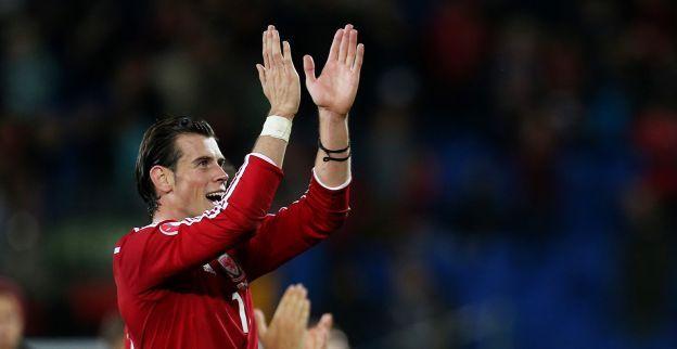 Bale loopt fluitend rond: 'Het is fantastisch, hier zit echt geen geluk bij'