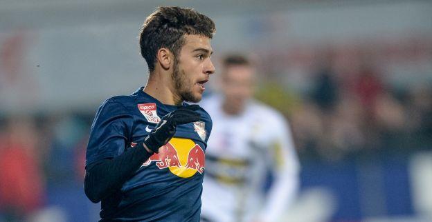 Massimo Bruno is opnieuw belangrijk voor Red Bull Salzburg met assist