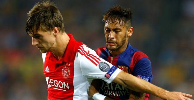 Veltman kijkt ogen uit: Messi is ook een mens, maar op het veld geniet ik wel
