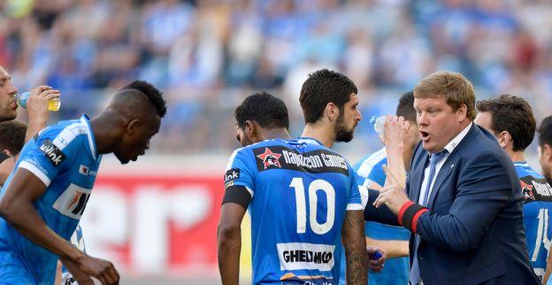 AA Gent wint op het nippertje van KV Oostende en doet goede zaak voor derde plaats