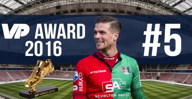 VP Award 2016: Spits bekroont eerste Eredivisie-jaar met vijfde plaats
