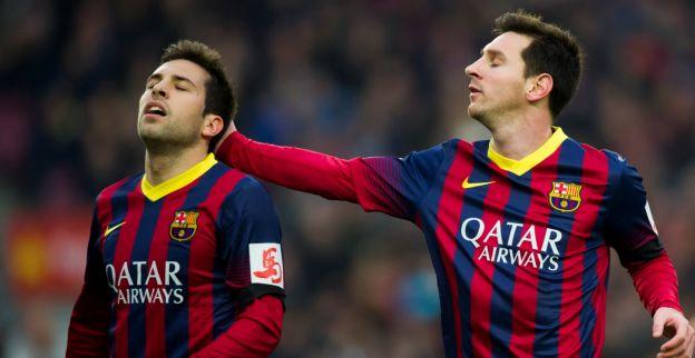 FC Barcelona komt niet ongeschonden uit strijd; Alba valt even weg