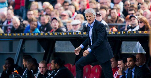 'Feyenoord-trainer Rutten grijpt na tegengoals in en posteert Vilhena op tien'