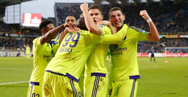 Jeugdspeler van Club Brugge supportert noodgedwongen voor Anderlecht