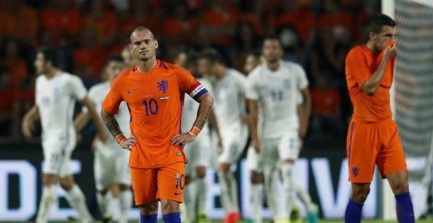 Sneijder 'voelt zich niet fijn' door Oranje-besluit: Voor mij geen randzaak