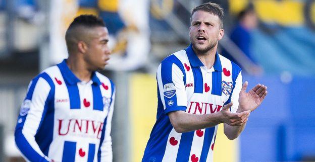 Teleurgestelde Van den Berg:  We moeten van de play-offs af