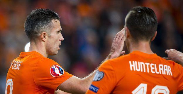 Ook Huntelaar spreekt zich uit over vete: Zijn Robin en ik allang weer vergeten