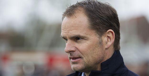 De Boer gaat voor hoofdprijs: 'Bij uitschakeling is het seizoen nog niet voorbij'
