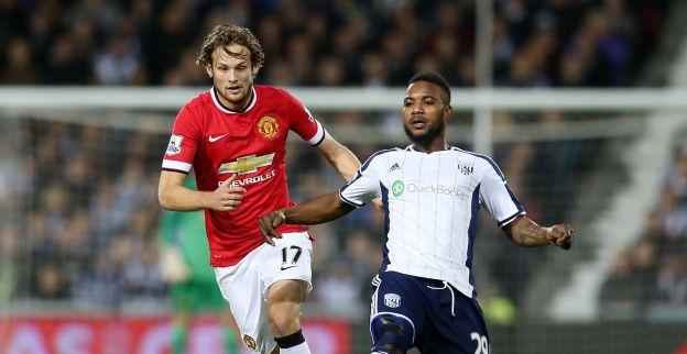 Blind schuift Manchester United in slotfase naast effectief West Brom