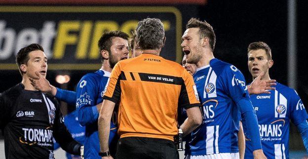 Geel is woedend op Van De Velde: ''Betere refs in Amateurklasse''