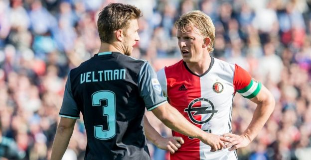 Veltman lyrisch over 'niet normale' Ajax-ploeggenoot na 'Suarez-actie'