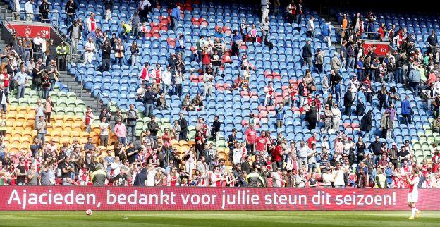 'Kritische fans hebben gelijk; statistieken bewijzen 'saai' Ajax-jaar onder De Boer'