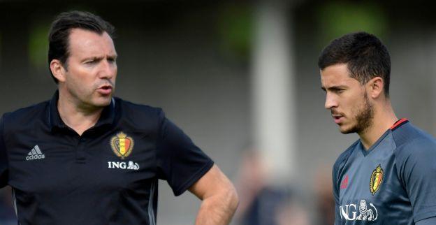 Wilmots: Hazard draagt de ploeg op zijn manier