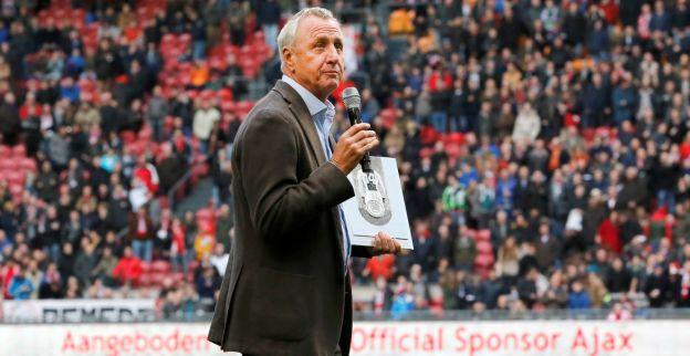Cruijff: 'Bij Ajax kun je klimmen, bij Barça alleen keihard naar beneden donderen'