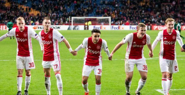 Ajax op rapport: vier Ajacieden top, Westermann herstelt zich na eerste helft