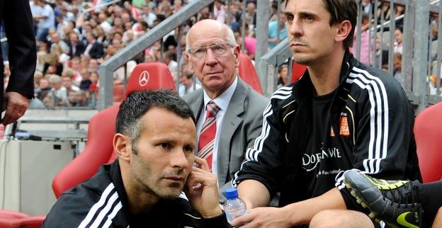 Giggs en Neville overwegen Salford City te kopen