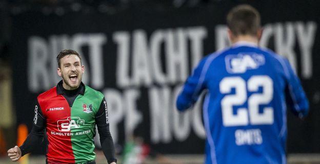 Roda buigt in Nijmegen voor aanstaande kampioen, Oss grijpt periodetitel